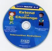Cover of: Saxon Math K-3 by Harcourt Achieve Inc. and Nancy Larson