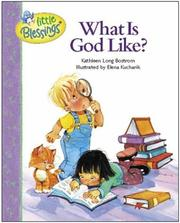Cover of: What is God like?
