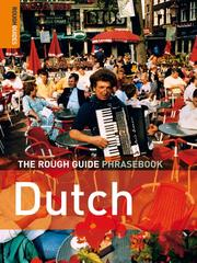 Cover of: The Rough Guide Phrasebook Dutch | Rough Guides