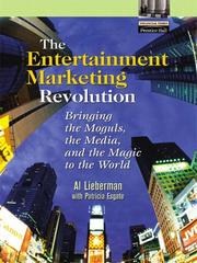 Cover of: The Entertainment Marketing Revolution | Al Lieberman
