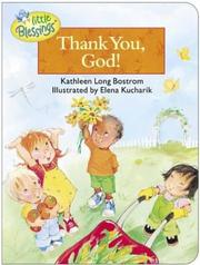 Cover of: Thank You, God! (Little Blessings Line)