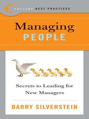 Cover of: Best Practices: Managing People | Silverstein, Barry