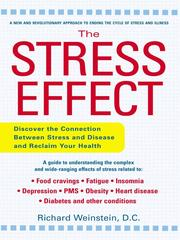 Cover of: The Stress Effect | Richard Weinstein