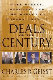Cover of: Deals of the Century | Charles R. Geisst