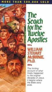 Cover of: The Search for the Twelve Apostles | William S. McBirnie