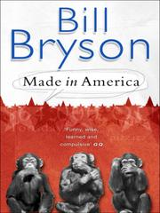 Cover of: Made in America | Bill Bryson