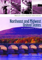 Cover of: Northeast and Midwest United States | John Cumbler