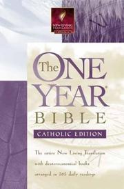 Cover of: The One Year Bible |