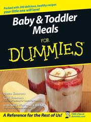 Cover of: Baby & Toddler Meals For Dummies | Dawn Simmons