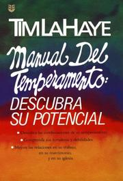 Cover of: Manual del Temperamento