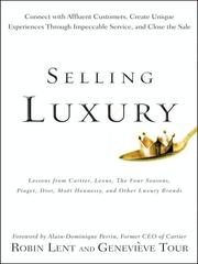Cover of: Selling Luxury | Robin Lent