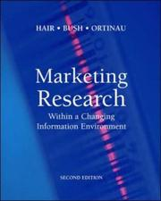 Cover of: Marketing Research | Jr., Joseph F. Hair