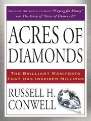Cover of: Acres of Diamonds | Russell Herman Conwell