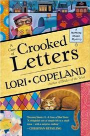 Cover of: A case of crooked letters | Lori Copeland