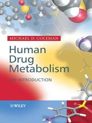 Cover of: Human Drug Metabolism | Michael Coleman