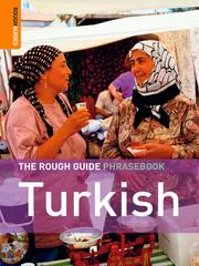 Cover of: The Rough Guide Phrasebook Turkish | Rough Guides