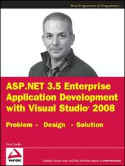 Cover of: ASP.NET 3.5 enterprise application development with Visual studio 2008 | Vince Varallo