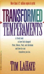 Cover of: Transformed temperaments