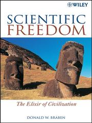 Cover of: Scientific freedom | D. W. Braben