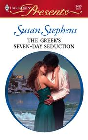 Cover of: The Greek's Seven-Day Seduction