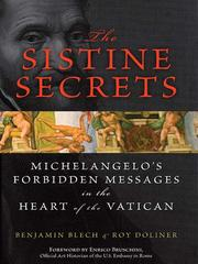 Cover of: The Sistine Secrets | Benjamin Blech