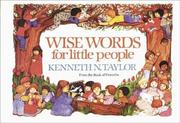 Cover of: Wise words for little people