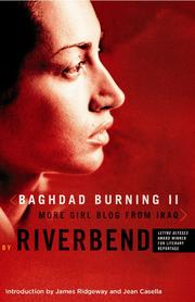 Cover of: Baghdad Burning II | Riverbend.