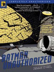 Cover of: Batman Unauthorized | Chris Roberson