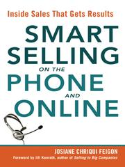 Cover of: Smart Selling on the Phone and Online | Josiane Chriqui Feigon