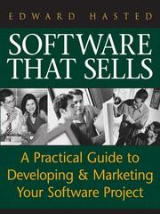 Cover of: Software That Sells | Edward Hasted