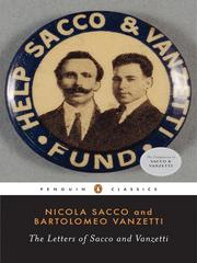 Cover of: The Letters of Sacco and Vanzetti | Nicola Sacco