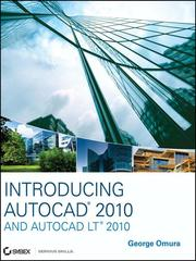 Cover of: Introducing AutoCAD 2010 and AutoCAD LT 2010 | George Omura