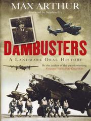 Cover of: Dambusters | Max Arthur