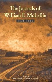 Cover of: The journals of William E. McLellin, 1831-1836
