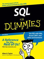 Cover of: SQL For Dummies | Allen G. Taylor