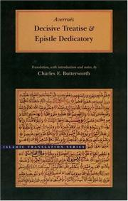 Cover of: Decisive Treatise and Epistle Dedicatory