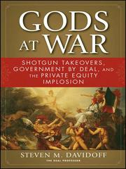 Cover of: Gods at War | Steven M. Davidoff