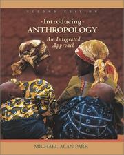 Cover of: Introducing Anthropology