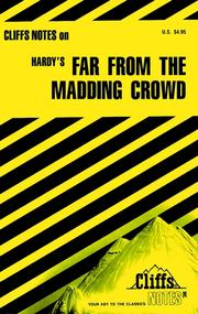 Cover of: CliffsNotes on Hardy