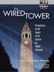 Cover of: The Wired Tower | Matthew Serbin Pittinsky