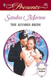 Cover of: The Alvares Bride | Marton