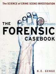 Cover of: Forensic Casebook | N.E. Genge