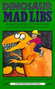 Cover of: Dinosaur Mad Libs