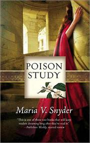 Cover of: Poison Study | Maria V. Snyder