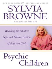 Cover of: Psychic Children | Sylvia Browne