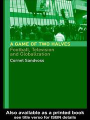 Cover of: A Game of Two Halves | CORNEL SANDVOSS