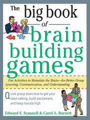 Big book of brain-building games by Edward E. Scannell