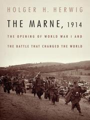 Cover of: The Marne, 1914 | Holger H. Herwig