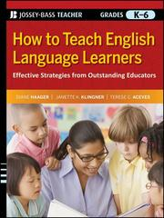 Cover of: How to Teach English Language Learners | Diane Haager