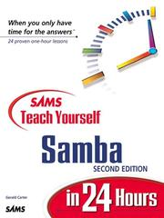 Cover of: Sams Teach Yourself Samba in 24 Hours, Second Edition | Gerald Carter
